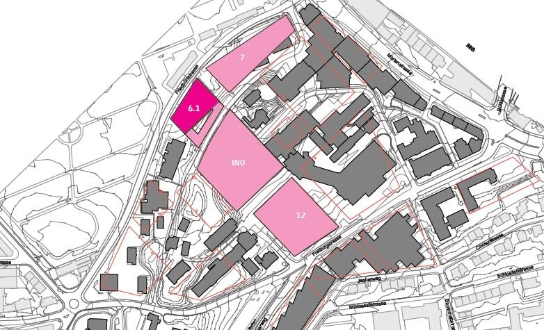 HENN_Strukturierung in Baufelder